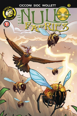The Null Faeries #3 (Cicconi Cover)