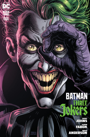 Batman: Three Jokers #3 (Jason Fabok Joker Cover)