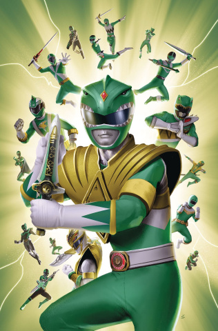 Mighty Morphin' Power Rangers #31 (25 Copy Lafuente Cover)