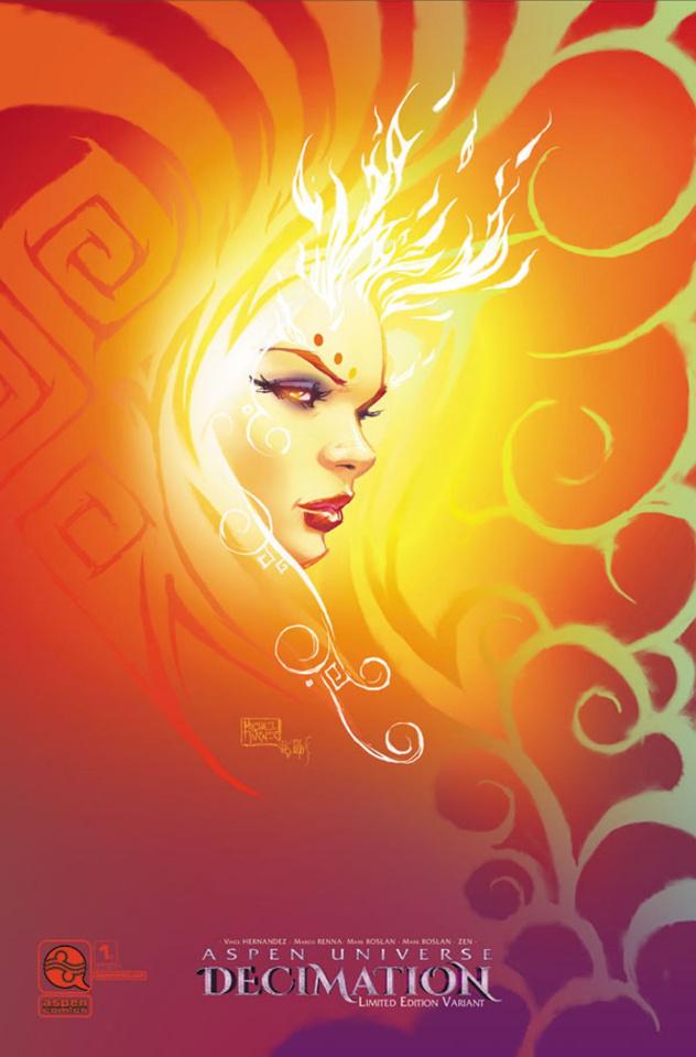 Aspen Universe: Decimation #1 (24 Copy Cover)