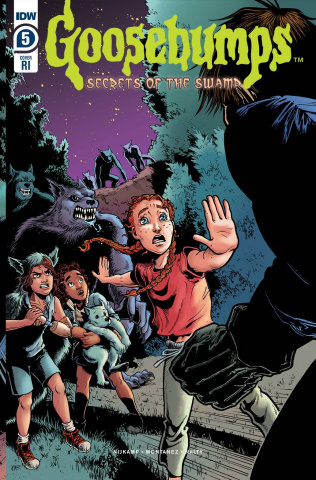 Goosebumps: Secrets of the Swamp #5 (10 Copy Meath Cover)