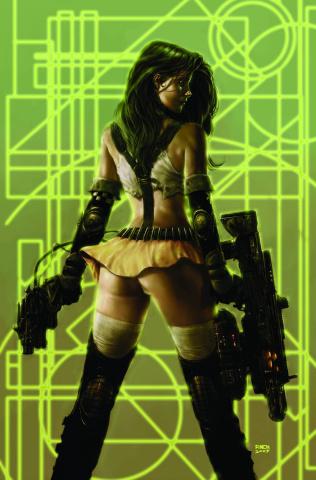 Aphrodite IX #4 (Finch Cover)