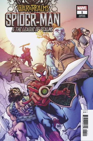 The War of the Realms: Spider-Man & The League of Realms #1 (Hamner Cover)
