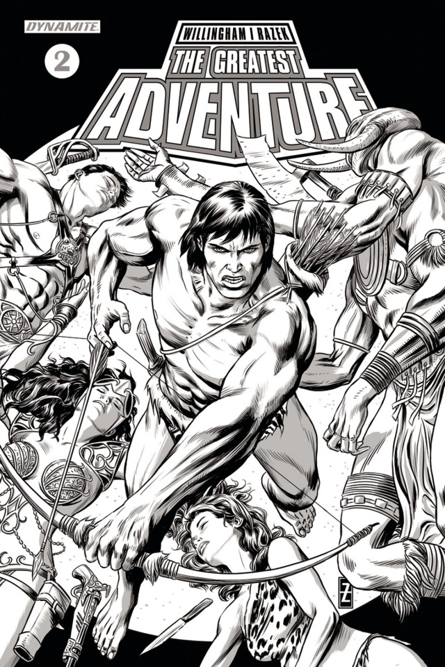 The Greatest Adventure #2 (20 Copy Zircher B&W Cover)
