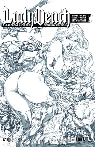 Lady Death: Apocalypse #0 (Century A Cover)