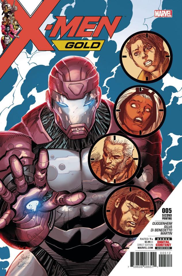X-Men: Gold #5 (2nd Printing)