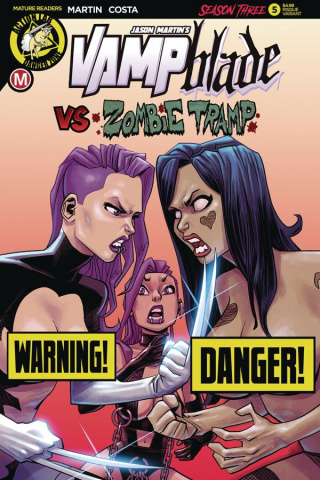 Vampblade, Season Three #5 (Costa Risque Cover)