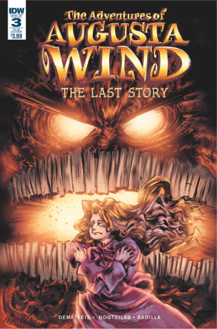 The Adventures of Augusta Wind: The Last Story #3 (Subscription Cover)