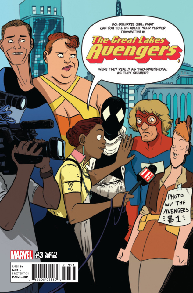 Great Lakes Avengers #3 (Henderson Cover)