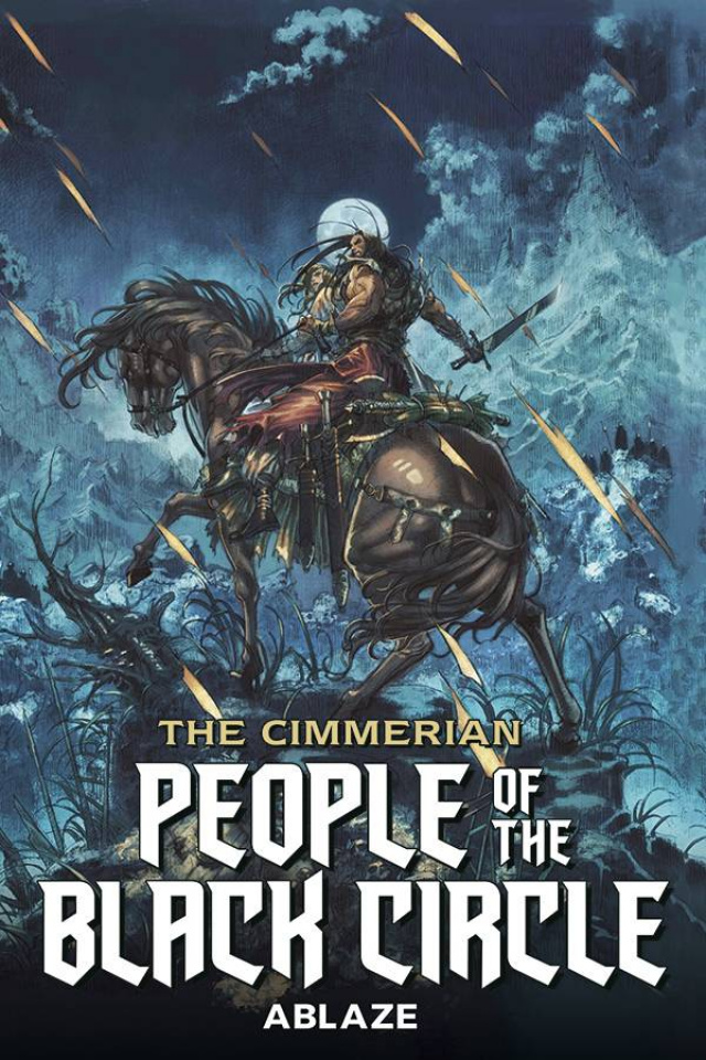 The Cimmerian: People of the Black Circle #1 (Jae Kwang Park Cover)