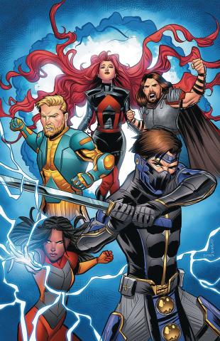 Ninjak vs. The Valiant Universe #2 (50 Copy Eisma Cover)