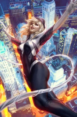 Spider-Gwen: Ghost Spider #1 (Artgerm Cover)