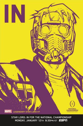 Legendary Star-Lord #7 (In Cover)