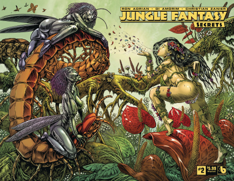 Jungle Fantasy: Secrets #2 (Wrap Cover)