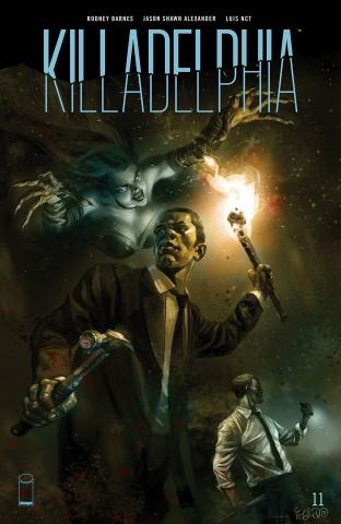 Killadelphia #11 (Fegredo Cover)