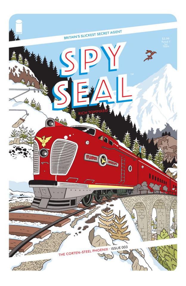 Spy Seal #3 (Tommaso Cover)