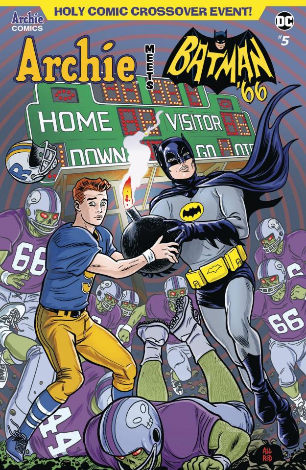 Archie Meets Batman '66 #5 (Allred Cover)