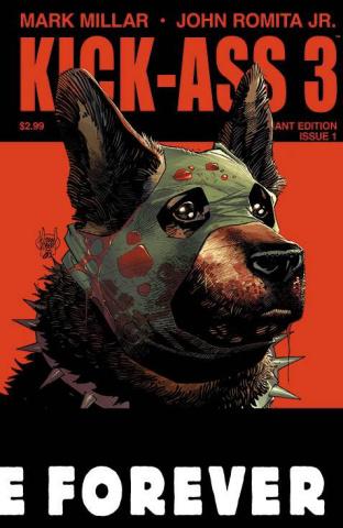 Kick-Ass 3 #1 (Kubert Cover)