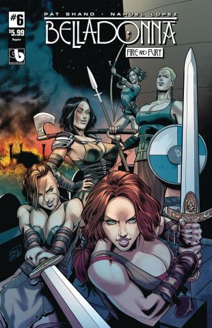 Belladonna: Fire and Fury #6
