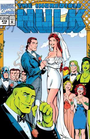 The Hulk: The Wedding of Rick Jones #1 (True Believers)