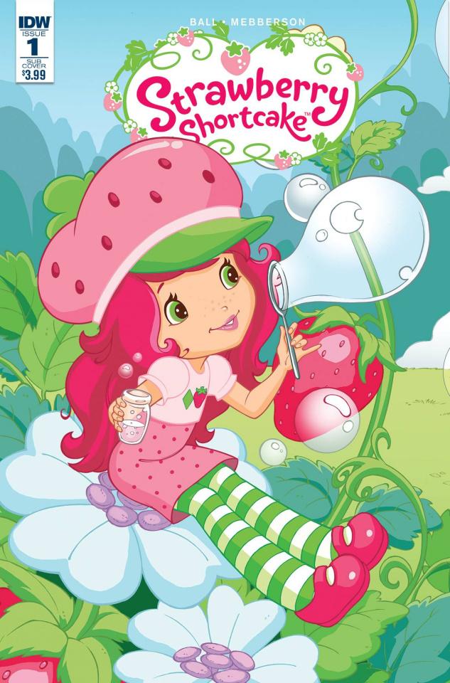 Strawberry Shortcake #1 (Subscription Cover)