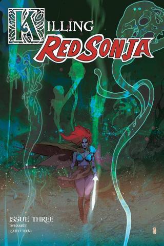 Killing Red Sonja #3 (20 Copy Ward Color Cover)