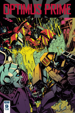 Optimus Prime #9 (Zama Cover)