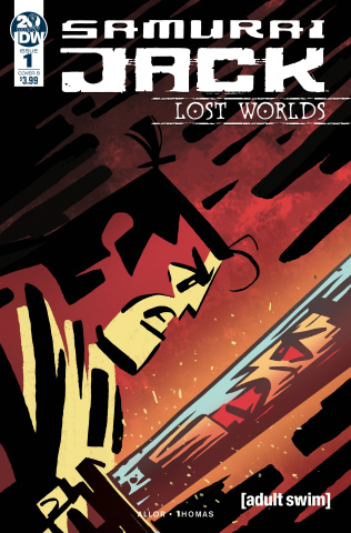 Samurai Jack: Lost Worlds #1 (Fullerton Cover)