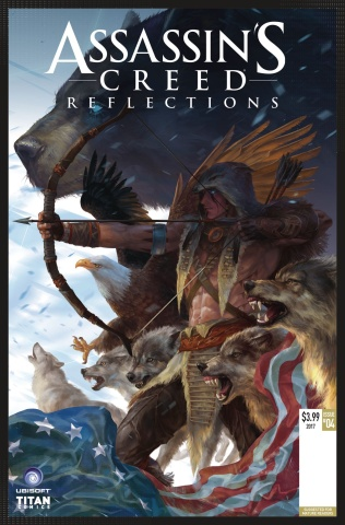 Assassin's Creed: Reflections #4 (Nacho Cover)