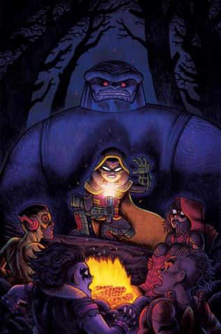 Are You Afraid of Darkseid? #1 (Dan Hipp Cover)