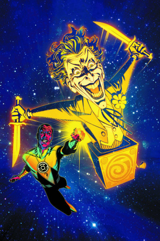 Sinestro #12 (The Joker Variant)