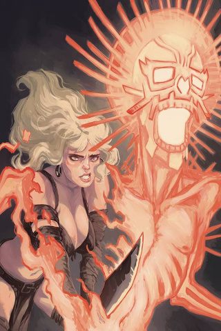 The Cimmerian: Red Nails #2 (Alterici Cover)