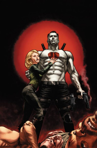 Bloodshot: Reborn #1 (100 Copy B&W Larosa Cover)
