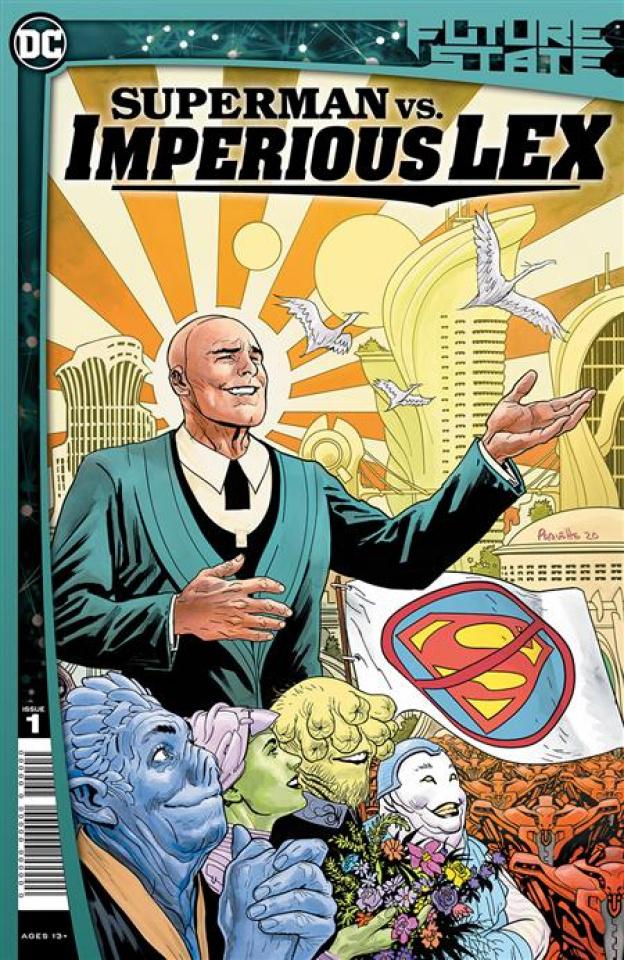 Future State: Superman vs. Imperious Lex #1 (Yanick Paquette Cover)