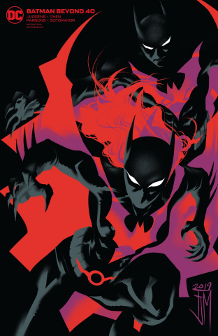 Batman Beyond #40 (Variant Cover)