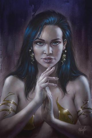 Dejah Thoris #7 (Parrillo Virgin Cover)