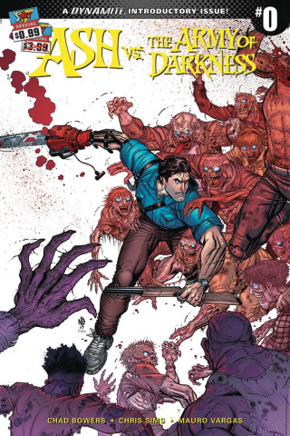 Ash vs. The Army of Darkness #0 (Bradshaw Cover)