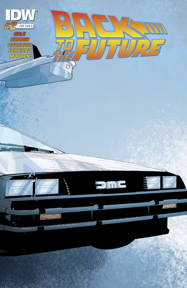 Back to the Future #2 (Subscription Cover)