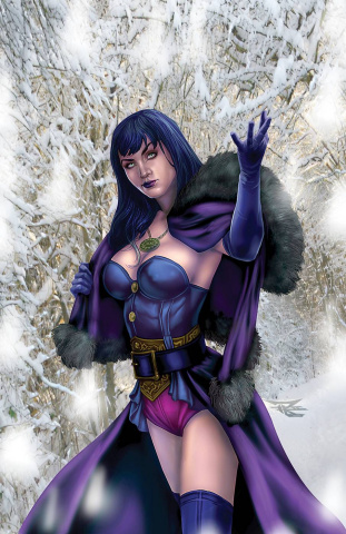 Grimm Fairy Tales 2020 Holiday Special (Leary Jr. Cover)