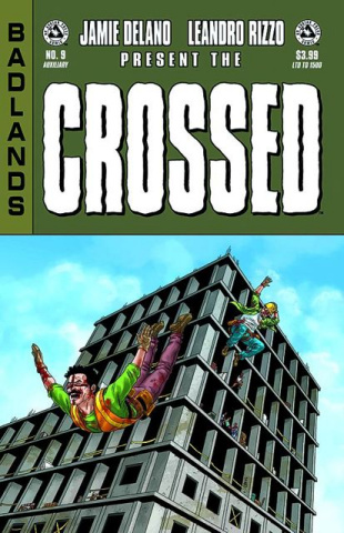 Crossed: Badlands #9 (Auxiliary Edition)