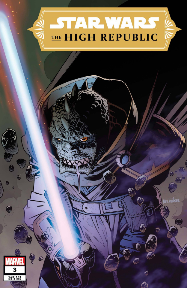 Star Wars: The High Republic #3 (Walker Cover)