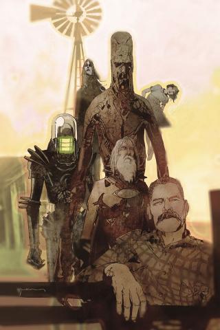 Black Hammer: Age of Doom #8 (Sienkiewicz Cover)