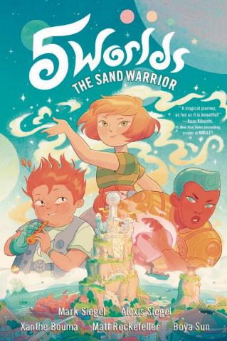 5 Worlds Vol. 1: Sand Warrior