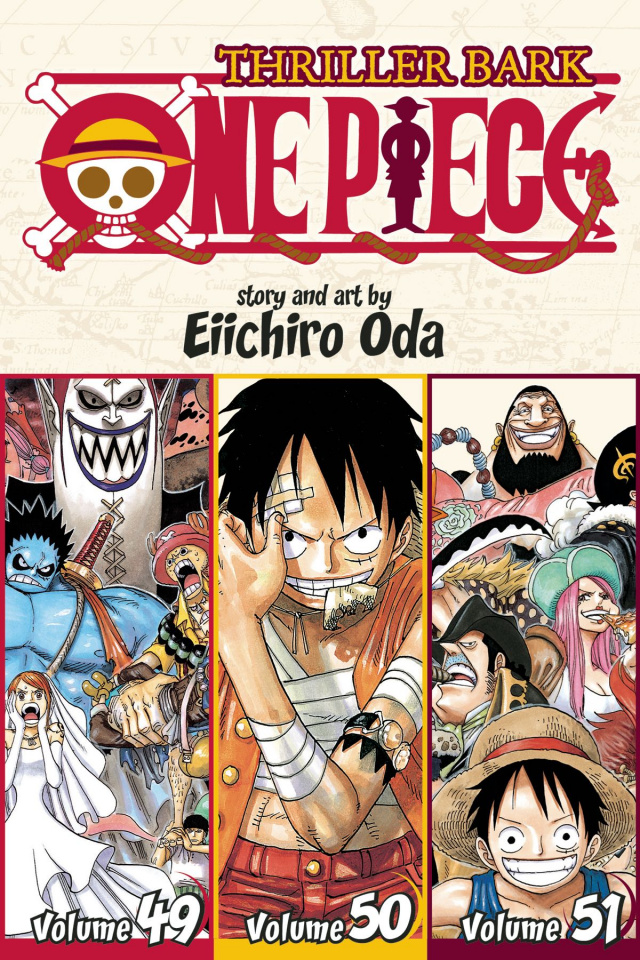 One Piece Vol. 17 (3-in-1 Edition)