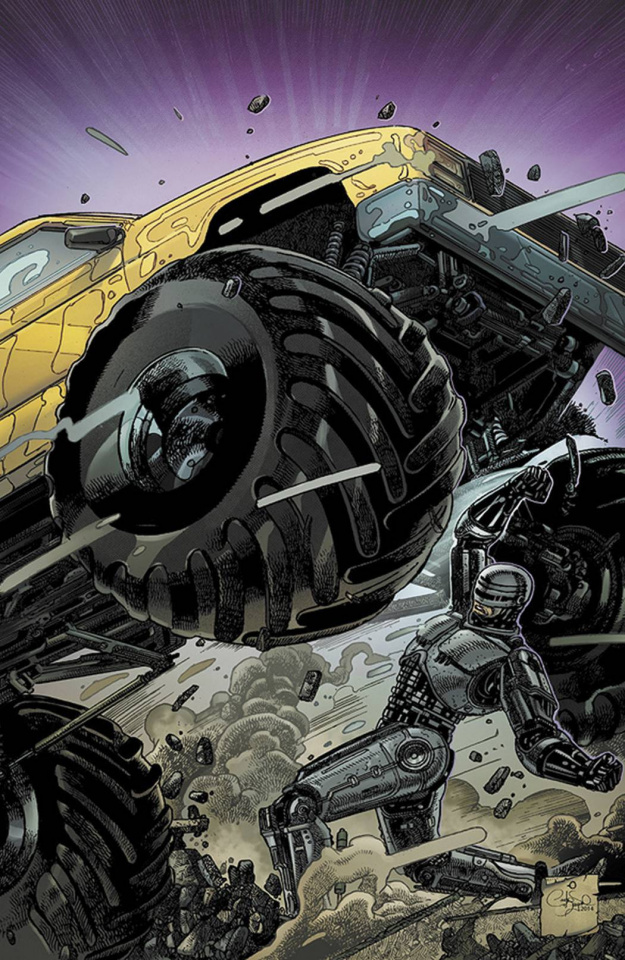 RoboCop #4 (20 Copy Magno Cover)