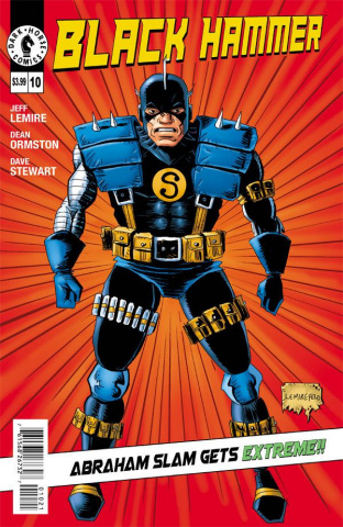 Black Hammer #10 (Lemire Cover)