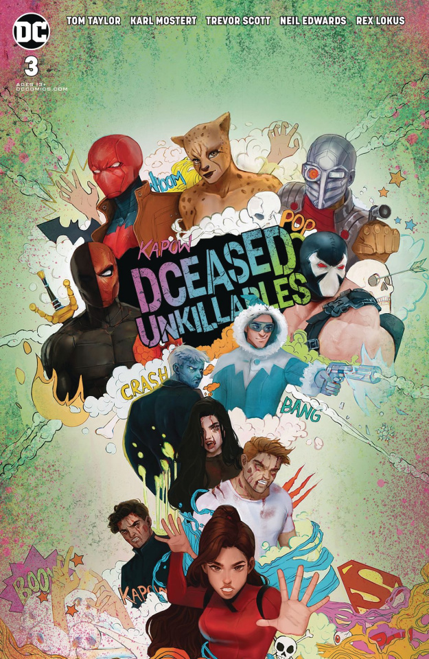 DCeased: Unkillables #3 (Card Stock Horror Tasia Cover)