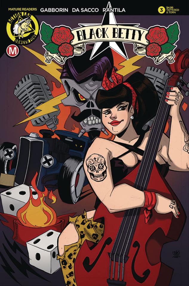 Black Betty #3 (Trom Tattered & Torn Cover)