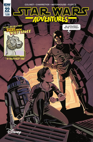 Star Wars Adventures #22 (Charretier Cover)