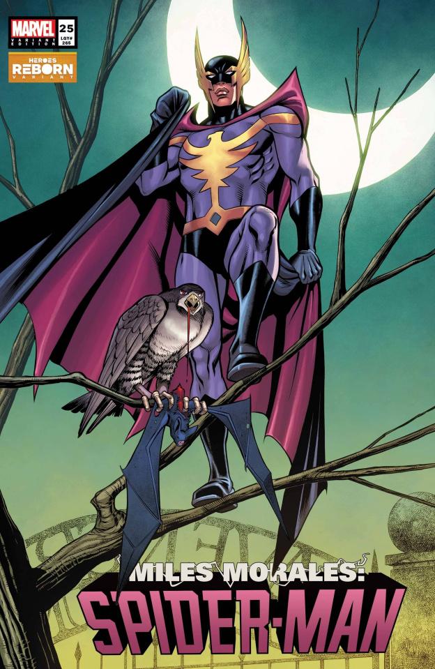 Miles Morales: Spider-Man #25 (Pacheco Reborn Cover)